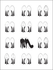 Premium-plakat High Heels Collection
