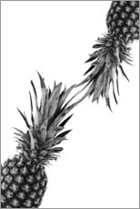 Premium-plakat Pineapple couple