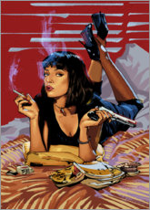 Premium-plakat Pulp Fiction