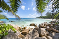Premium-plakat Holidays in the Seychelles
