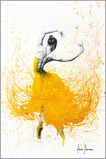 Galleritryk  Daisy Yellow Dancer - Ashvin Harrison