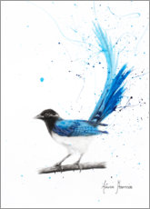 Premium-plakat Peaceful Blue Bird