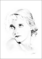 Premium-plakat Hollywood Diva - Bette Davis