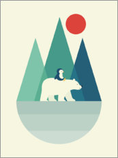 Premium-plakat  Bear You - Andy Westface