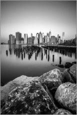 Premium-plakat New York City skyline