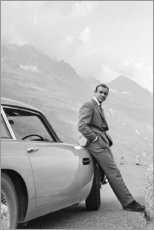 Akrylbillede  Sean Connery som James Bond - Celebrity Collection