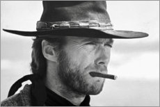 Lærredsbillede  Clint Eastwood i Den gode, den onde og den grusomme - Celebrity Collection