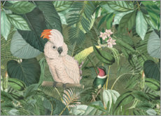 Akrylbillede  Jungle Friends - Andrea Haase