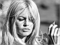 Premium-plakat  Brigitte Bardot - Borte med blæsten - Celebrity Collection