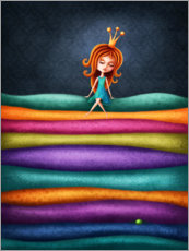 Premium-plakat The Princess and the Pea