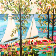 Akrylbillede  Nautical Whimsy IV - Karen Fields