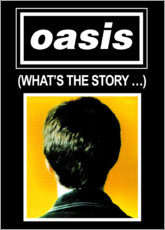 Print på træ  Oasis - What's The Story... - Entertainment Collection