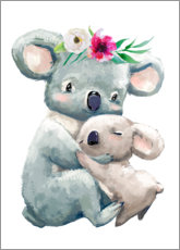 Premium-plakat  Koala mom - Kidz Collection