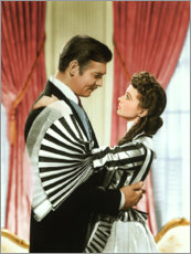 Premium-plakat Gone with the wind
