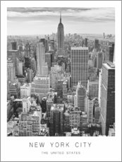 Premium-plakat New York City