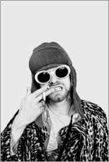 Lærredsbillede  Kurt Cobain - Celebrity Collection