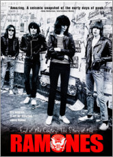 Print på træ  Ramones - End of the century - Entertainment Collection