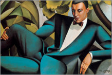 Galleritryk  Portrait of the Marquis d'Afflitto - Tamara de Lempicka