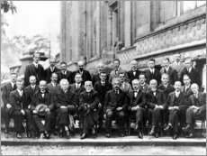 Print på aluminium  Fifth Solvay Conference, 1927