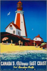 Akrylbillede  Canada's East Coast (English) - Travel Collection
