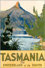 Lærredsbillede  Tasmania, Switzerland of the South (English) - Travel Collection