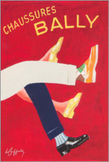 Akrylbillede  Bally shoes (french) - Advertising Collection