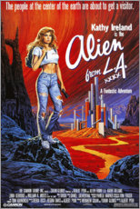 Print på træ  Alien from L.A. - Entertainment Collection