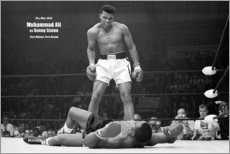 Akrylbillede  Bokselegende Mohammed Ali - Celebrity Collection
