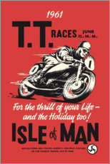 Premium-plakat  TT races - Advertising Collection