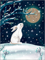 Premium-plakat Greetings from the hare
