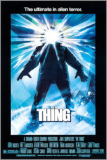 Selvklæbende plakat  The Thing - Entertainment Collection