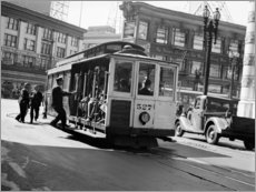 Akrylbillede  San Francisco in the 30s