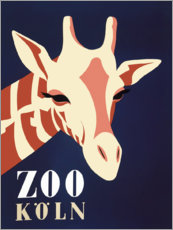 Akrylbillede  Zoo Cologne (German) - Advertising Collection