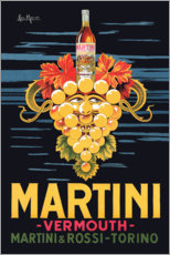 Akrylbillede  Martini advertising poster - Advertising Collection