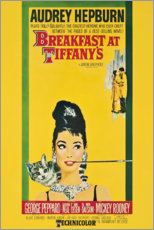 Premium-plakat  Breakfast at Tiffany's (Pigen Holly) - Entertainment Collection