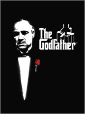 Print på aluminium  The Godfather - Entertainment Collection