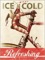 Premium-plakat  Bikes and Cola - Wyatt9