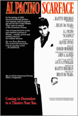 Selvklæbende plakat  Scarface - Entertainment Collection