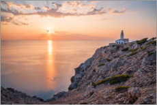 Lærredsbillede  Sunrise at the lighthouse in Cala Ratjada - Igor Kondler