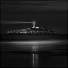Akrylbillede  The light that leads us - Marco Antonio Cobo
