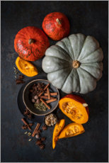 Akrylbillede  Autumn on the table - Diana Popescu