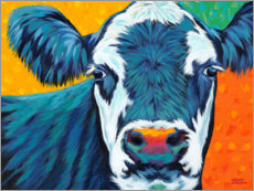 Premium-plakat Colorful Country Cows I