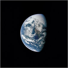 Galleritryk  View of the Earth from the spacecraft Apollo 13 - Stocktrek Images