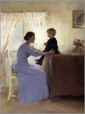 Galleritryk  Mother and Child - Peter Vilhelm Ilsted