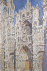 Galleritryk  Cathedral afternoon - Claude Monet