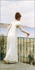 Galleritryk  A Favour, 1898 - Edmund Blair Leighton