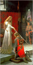 Galleritryk  The Accolade - Edmund Blair Leighton