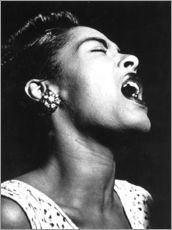 Galleritryk  Billie Holiday
