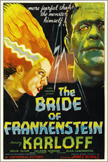 Selvklæbende plakat  The Bride of Frankenstein