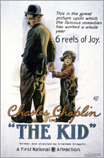 Selvklæbende plakat  Chaplin: The Kid, 1920